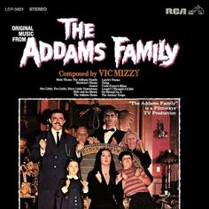 """""""The Addams Family"""" (1965, RCA).  Music from the television series."""