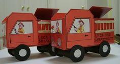 Fire Truck Valentine Card box   Valentines Day   Pinterest ...