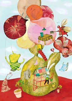 Cecile Gambini, via children's illustration