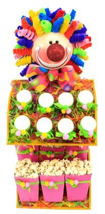 Despachador de dulces. Manualidades originales para fiestas infantiles. Barra de dulces
