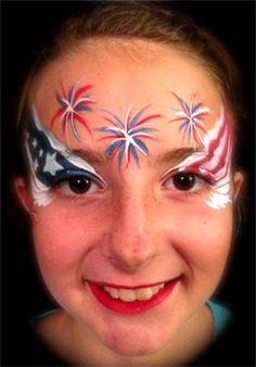 4th of july face painting - Google Search