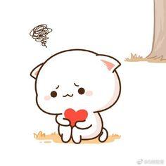 Cute Cartoon Images, Cute Cartoon Drawings, Cute Love Cartoons, Cute Animal Drawings, Kawaii Drawings, Cute Cartoon Wallpapers, Cute Images, Cute Love Gif, Cute Love Pictures