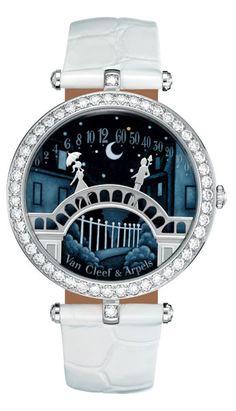 "love, love, love this watch - ""Pont des Amoureux"" Poetic Complication timepiece by Van Cleef & Arpels"