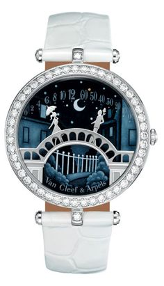 "love, love, love this watch - ""Pont des Amoureux"" Poetic Complication timepiece by Van Cleef & Arpels"