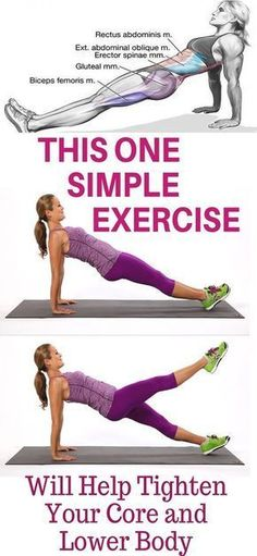 ONE SIMPLE EXERCISE TO HELP STRENGTHEN THE CORE AND LOWER BODY! Source by Normskifour