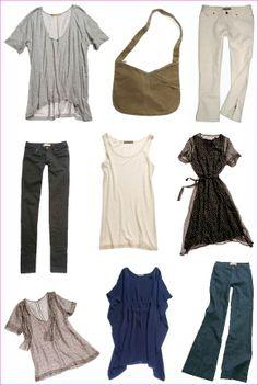 casual summer core wardrobe