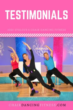 Chair Dancing Fitness has helped so many to achieve their weight loss and fitness goals.
