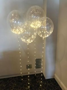 Beautiful, Illuminating Sparkle Deco Balloons, Small & Large. Perfect for weddings, birthday celebrations or just because!! www.letspartywithballoons.com.au