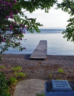 Wooden pier@Limni_North Evia_Greece_Jul2016 Mykonos, Santorini, Greek Islands, Greece, Scenery, Places, Photos, Photography, Greek Isles