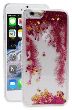 SKINNY+DIP+Skinnydip+Glitter+Liquid+iPhone+6+Case+available+at+#Nordstrom