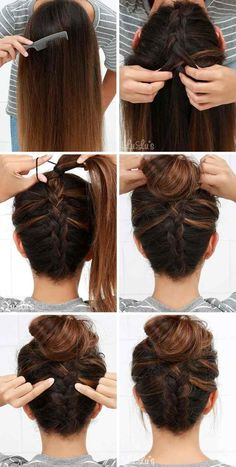 Easy Updos for langes Haar Step for Step to Home on English 2018 to tun New Site, EASY E. : Easy Updos for langes Haar Step for Step to Home on English 2018 to tun New Site, EASY English Haar hairstylestepbystep home langes Site Step tun updos Easy Hairstyles For Long Hair Easy, Step By Step Hairstyles, Braids For Long Hair, Braided Hairstyles, Hairstyle Ideas, Braid Hair, Layered Hairstyle, Pretty Hairstyles, Easy Updos For Medium Hair