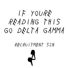 recruitment szn. Delta Gamma social media image. sorority social media. Alpha Sigma Alpha, Delta Gamma, Sorority Socials, Social Media Images, Bid Day, Programming, Anchor, Lettering, Quotes