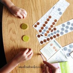 Use gold coins for added money fun