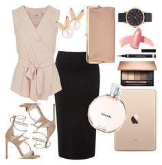 """""""Untitled #10"""" by ritika-sachan on Polyvore featuring Stuart Weitzman, Miss Selfridge, Aamaya by priyanka, Urban Expressions, Marc Jacobs, Yves Saint Laurent, Elizabeth Arden and Chanel"""