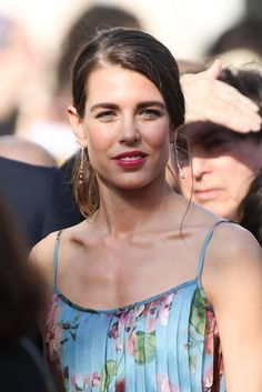 Charlotte Casiraghi at Carol Premiere at 2015 Cannes Film Festival