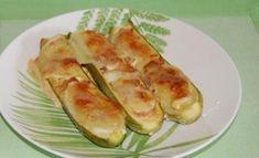 Courgettes farcies au jambon et mozzarella WW, recette d'un bon plat léger, facile et rapide à faire pour un repas du soir léger accompagné d'une bonne salade.