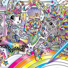 A Lisa Frank Coloring Book Coming To Dollar General