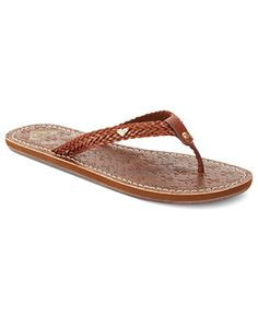Roxy Shoes, Cirque Thong Sandals - Sandals - Shoes - Macys... I really like these ones!