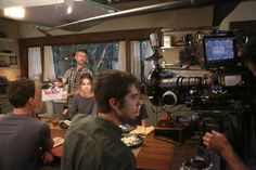 Behind the scenes from Monday's The Fosters winter premiere!