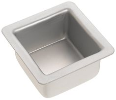 Fat Daddios 3 Inch x 3 Inch x 2 Inch Square Cake Pan ^^ Trust me, this is great! : Baking pans