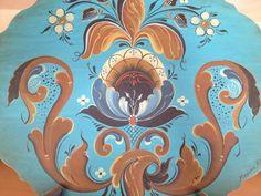 Hallindal painted by Allie