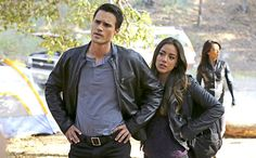 Skye and Ward are on a mission to take down Centipede. After being captured and escaping into the desert, the two are separated from the rest of the team. Man Movies, Comic Movies, Agents Of S.h.i.e.l.d, Marvel And Dc Crossover, Chloe Bennett, Grant Ward, Black Widow Winter Soldier, Marvels Agents Of Shield, Avengers Cast
