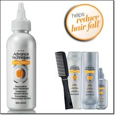 ADVANCE TECHNIQUES STRONG STRANDS Restorative Root Treatment Helps reduce hair fall.† Infused with marine algae extract, keratin, bamboo extract and arginine. Use daily after shampoo and conditioner, and style as usual. http://jgoertzen.avonrepresentative.com/