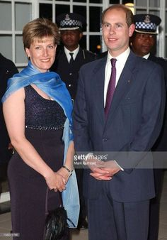 Prince Edward and his wife Sophie of Wessex.