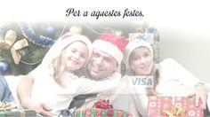 """Personalitza la teva targeta regal. Aquestes festes de Nadal, regala una targeta personalitzada. Tria la foto que més t'agradi i, a """"la Caixa"""", la imprimim a la teva targeta. Encerta segur amb el teu regal!"""