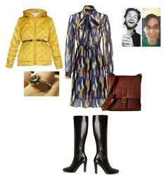 """""""Simple style for winter"""" by joydjschmidt on Polyvore featuring 'S MaxMara, Frye and Yves Saint Laurent"""