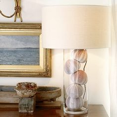 glass lamps for filling | Find a hollow glass lamp | Celia Rufey answers your lighting questions ...