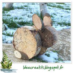 lapin de bois
