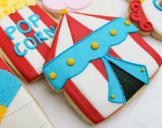 Circo carnaval colección galletas de azúcar por NotBettyCookies