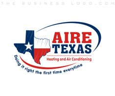 Aire Texas Heating & Air Conditioning, Cooling, Refrigeration, Plumbing, HVAC Logos