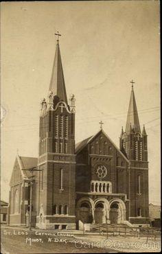 St. Leo's, Catholic Church, Minot, North Dakota