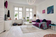our very first apartment: Wyjątkowo piękne wnętrza: salon