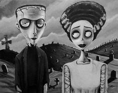 Tim Burton Frankenstein                                                                                                                                                      More