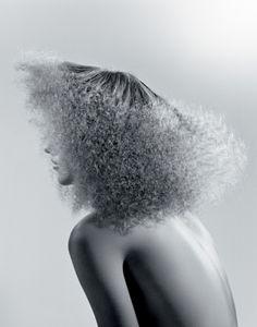 Make-up artist Yasmin Heinz Hair by Wendy Iles
