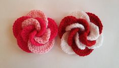 spiral örgü gül yapımı-1