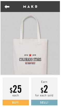 Awesome new Makr design app! Customize and design stationery, totes and more - and even sell them.