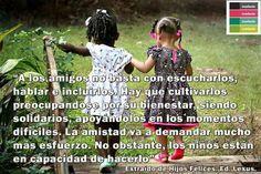 En este mes de #amoryamistad, enseñémosle a los #niños el verdadero valor de la amistad.