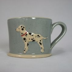 Jane Hogben Terracotta Dog Mug