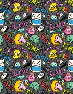 My Adventure Time by anka , via Behance