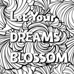 Inspirational Word Coloring Pages #52 – GetColoringPages.org