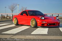 LOVED my red Mazda RX-7!!!