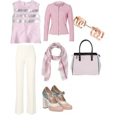 A fashion look from November 2015 featuring J.Crew tops, Basler jackets and Diane Von Furstenberg pants. Browse and shop related looks.