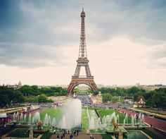 Paris - Every travelers bucket list. And the most prominent landmark photographed here would be the world famous Eiffel Tower.  This #throwback photo was take a few years ago when I visited the Paris Air Show. I also had one full day to explore the city of love and now hoping to go back again. . . . #paris #france #travel #eiffeltower #landscape #photography . . .