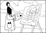 Free Art Teacher Resources Monet  Art lesson ideas