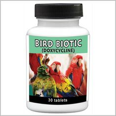 Bird Biotic 100mg - 30 tablets Doxy H or Tetracycline has a shelf life of 12 mths then destroy as out of the tablets can be harmful.