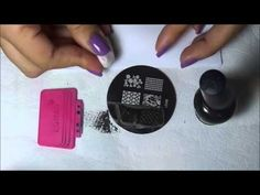 Nailstamp4fun: Nail Stamping Tips: Stretching Your Image - YouTube